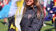 14/03/2016 VIAREGGIO (LU), la nuotatrice DILETTA CARLI alla cerimonia di apertura della VIAREGGIO CUP 2016 con la partita INTER - AKADEMIJA PANDEV svolta allo stadio dei pini a VIAREGGIO