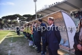 14/03/2016 VIAREGGIO (LU), panchina dell'inter alla cerimonia di apertura della VIAREGGIO CUP 2016 con la partita INTER - AKADEMIJA PANDEV svolta allo stadio dei pini a VIAREGGIO